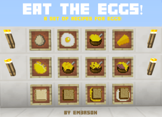 eat the eggs mod