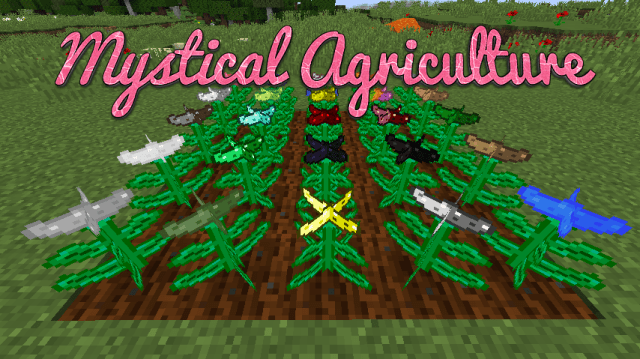 Mystical Agriculture Mod for Minecraft 1 12 2/1 11 2