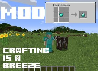 crafting is a breeze mod