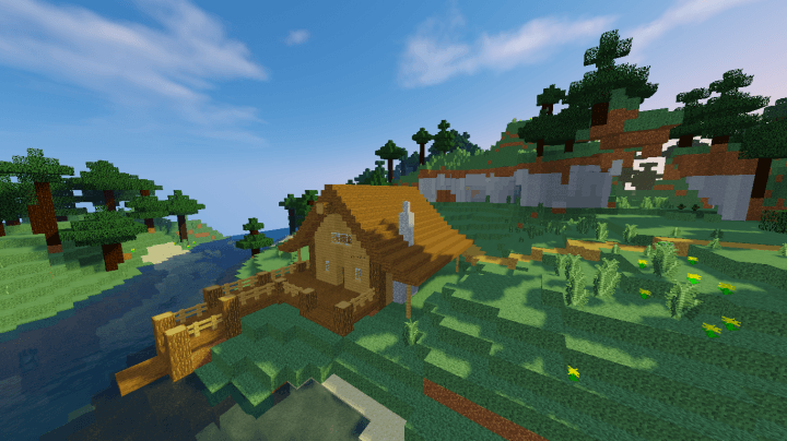 Natural Textures Resource Pack for Minecraft 1 10 2