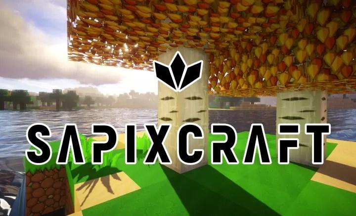 SapixCraft Original Resource Pack for Minecraft 1 13 1