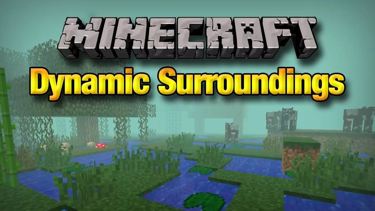 Dynamic Surroundings Mod for Minecraft 1 12 2/1 11 2 | MinecraftSix