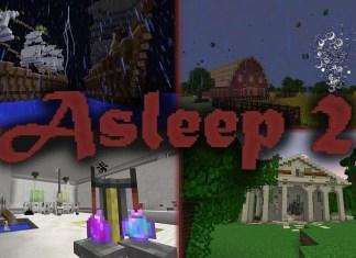 asleep  map
