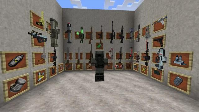 мод на оружие майнкрафт 1 1 2 2