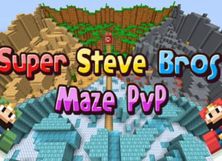 Minecraft 194 maps minecraftsix super steve bros maze pvp map for minecraft 194 publicscrutiny Image collections