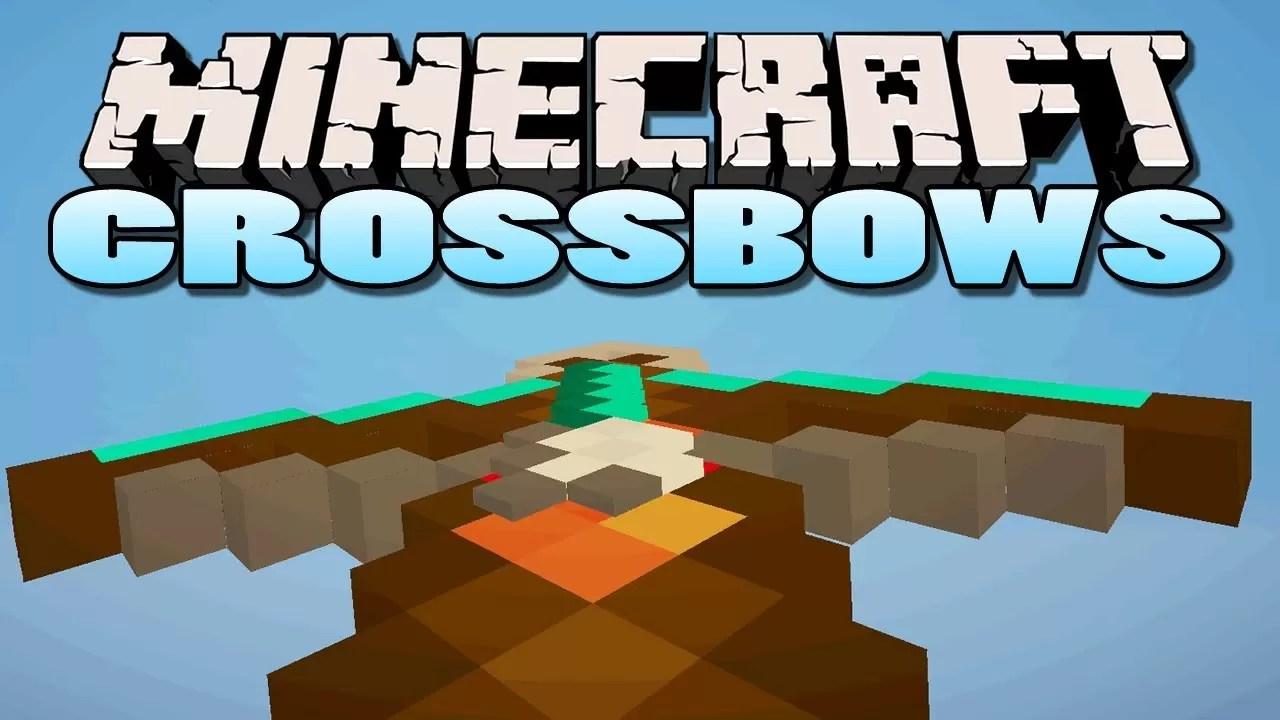 Crossbows Mod for Minecraft 1 11 2/1 10 2   MinecraftSix