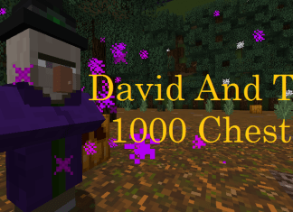 david and the  chests map