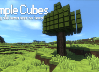 simple cubes resource pack