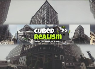 official cubed realism resource pack