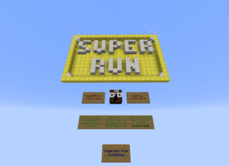 super run map