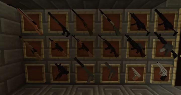 minecraft 3d guns mod 1.12.2