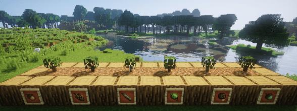 Dynamic Trees Mod for Minecraft 1 12 2/1 11 2 | MinecraftSix
