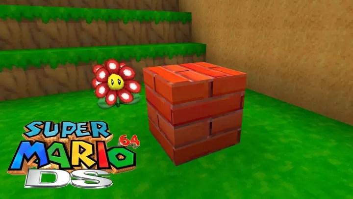 Super Mario 64 DS Resource Pack for Minecraft 1.12.2 | MinecraftSix