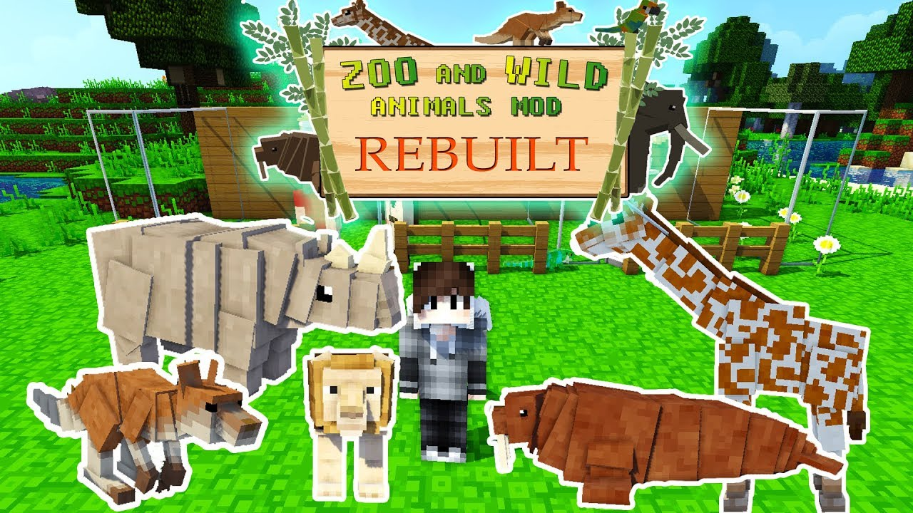 Zoo and Wild Animals Rebuilt Mod for Minecraft 1.12.2 ...