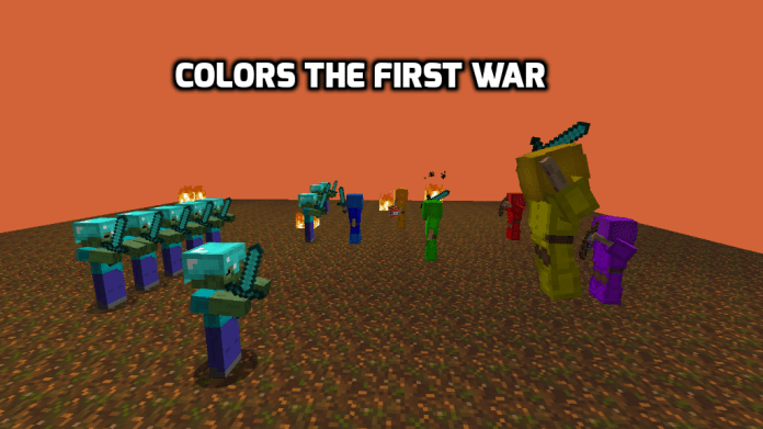 Colors the First War Map for Minecraft 1.12.2 | MinecraftSix