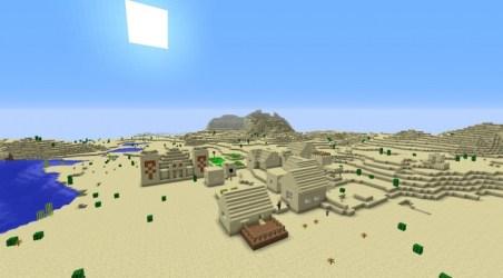Minecraft Village Seeds Minecraft seeds wiki
