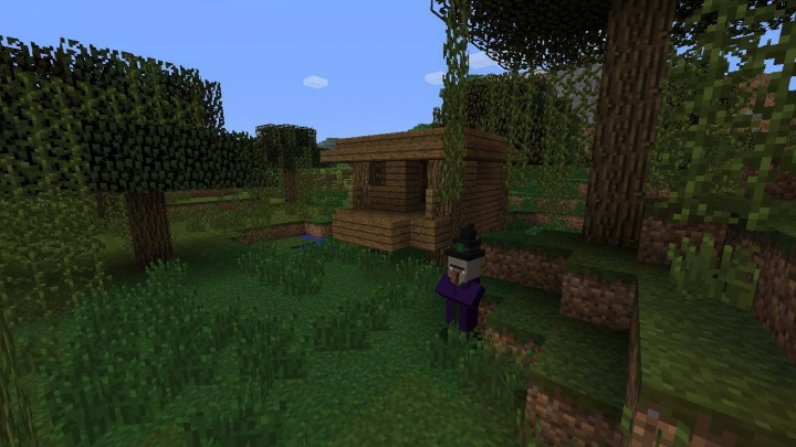 Minecraft Xbox 360 Witch Hut Seed TU 46 With Super Small