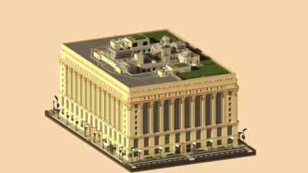 minecraft chicago hall rathaus buildings building minecraftbuildinginc minecraftwelt