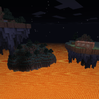Survival Lava Islands, Minecraft Survival Map Download