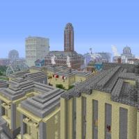 Mineton, Download A Pre-Built Minecraft City