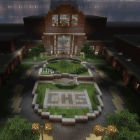 Project Central, Minecraft High School Adventure Survival Map (Download + Review)