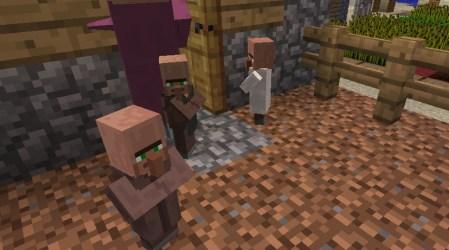 Three Doors Make A Baby Villager Surviving Minecraft Minecraft Adventures!