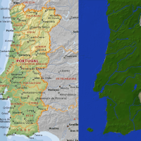 Portugal In Minecraft! (Portugal World Map Download)