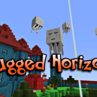 Rugged Horizons, Minecraft Skylands Survival Map Download