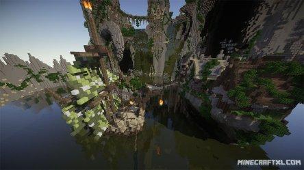 fantasy map minecraft village docks largest ship right minecraftxl