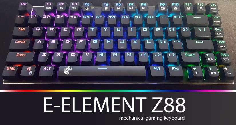 E-Element Z-88 60% RGB Mechanical