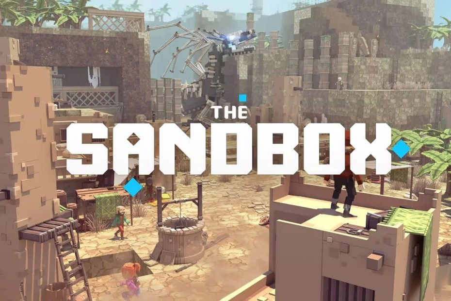 The Sandbox game. A virtual gaming world
