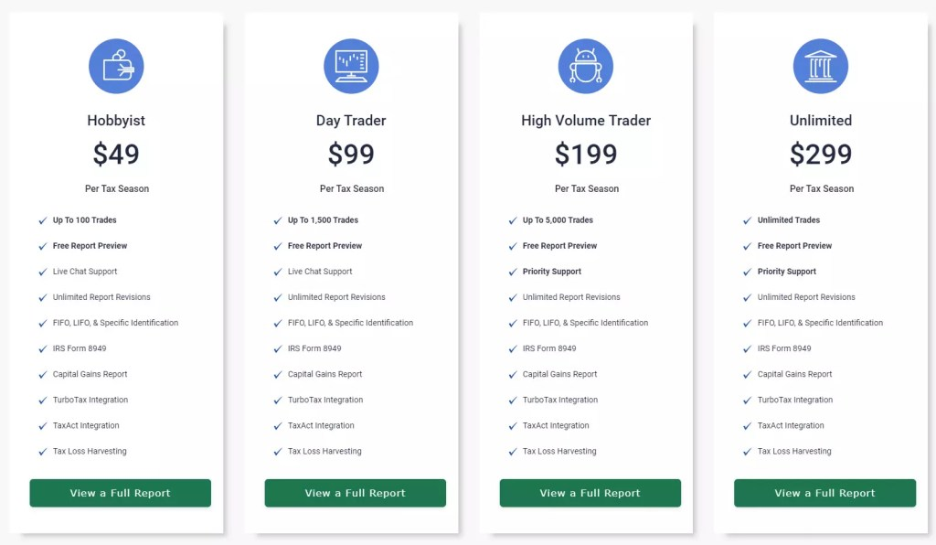Cryptotrader pricing