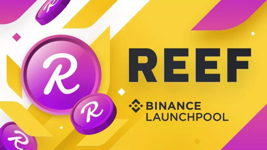 Reef binance launch pool