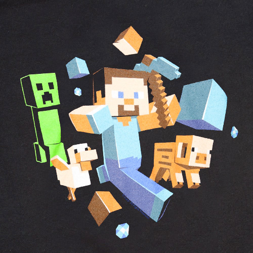 Minecraft Run Away t-shirt