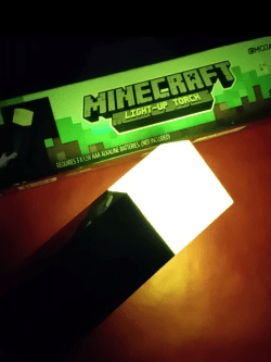 Minecraft Fakkel lampe