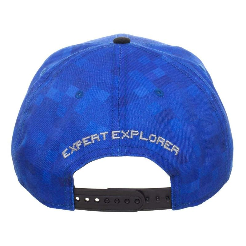 Minecraft Expert Explorer Snapback Kasket