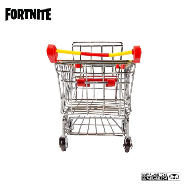 Fortnite Action Figurer Shopping Cart Sæt Warpaint Fireworks Team Leader 18cm