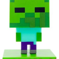 Minecraft Zombie 3D Lampe