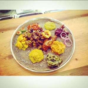 מסעדה אתיופית ללה