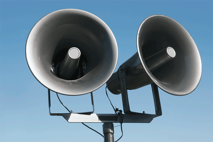Loud Speakers For Emergency Communication