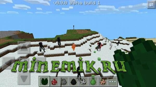 Скачать Minecraft PE 0.9.0