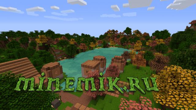 Красочные текстуры для Minecraft PE