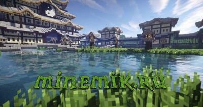 Китайский дворец для Minecraft