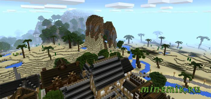 Карта Kingdom of Verona для Minecraft PE