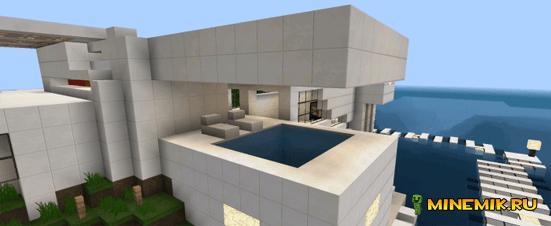 Modern Island House