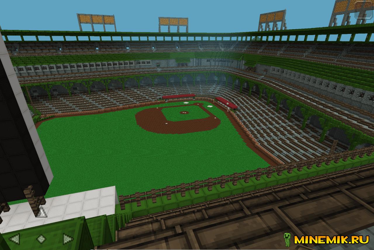 Rangers Ballpark — карта для MCPE