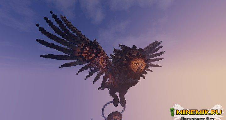 Скачать карту Steampunk Owl для minecraft 1.8