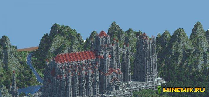 Castle of Red — карта для minecraft PC