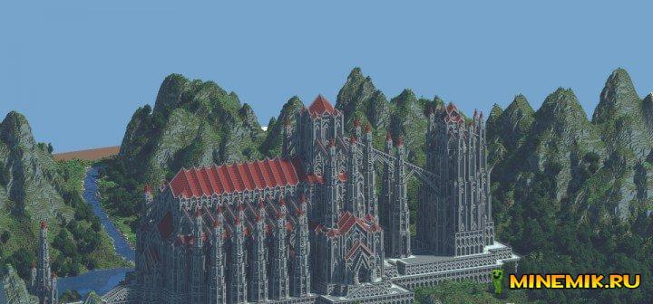 Castle of Red — карта для minecraft PC