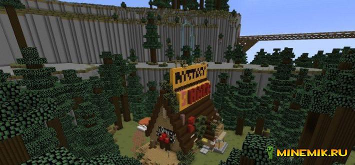 Карта Gravity Falls для minecraft pe